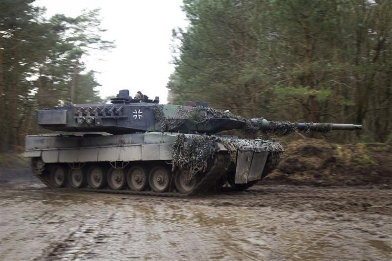 Duits leger krijgt opgeknapte Leopard-tanks