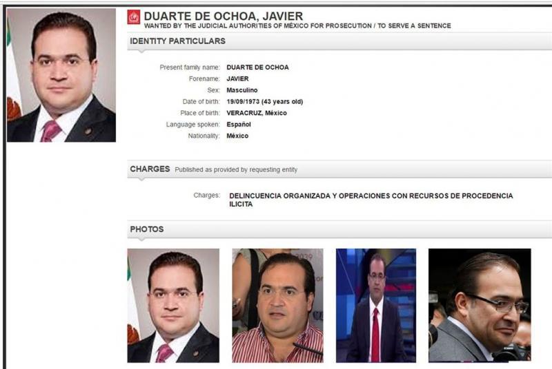 Weer Mexicaanse ex-gouverneur opgepakt