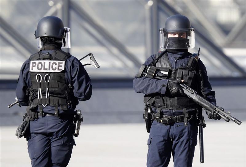 Terreurverdachten Franse verkiezingen opgepakt