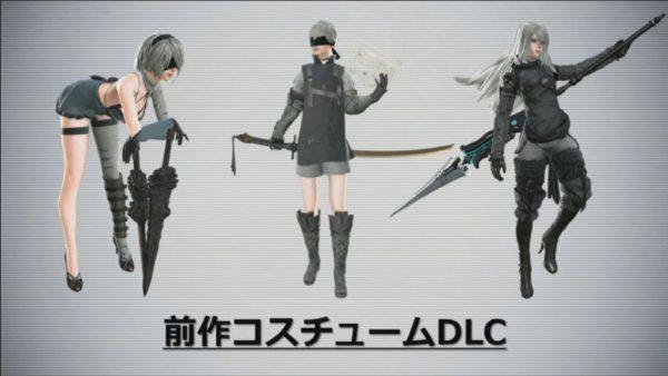 NieR-DLC kostuums