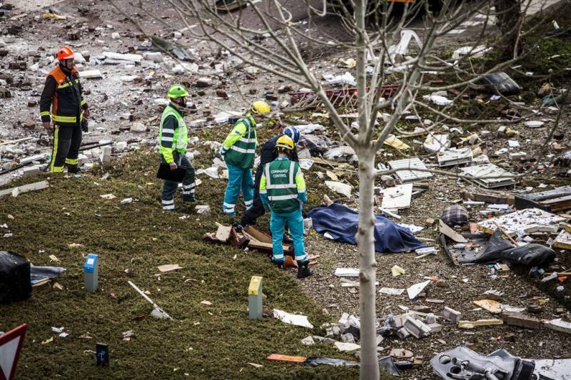 Onderzoek bij ziekenhuis na explosie Veendam