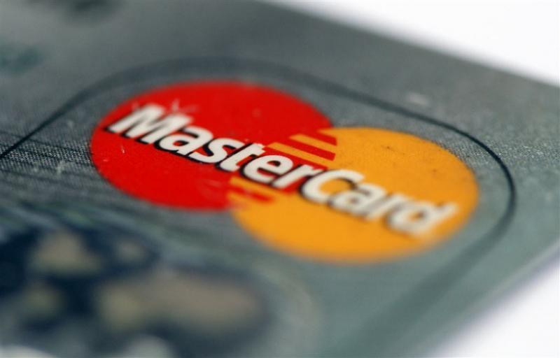 Creditcard scant vingerafdruk