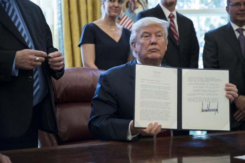 Trump wil onderzoek import buitenlands staal