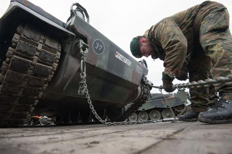 Duitse leger kampt met veel kapot materieel