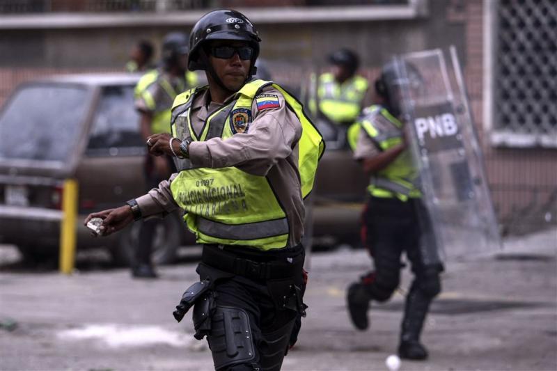'Plunderaars geëlektrocuteerd in Caracas'