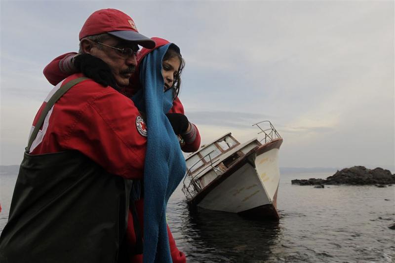 'Ruim 4500 kinderen de Middellandse Zee over'