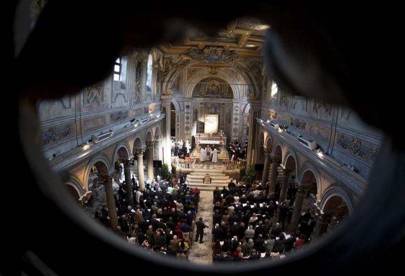 Paus: het zijn net concentratiekampen