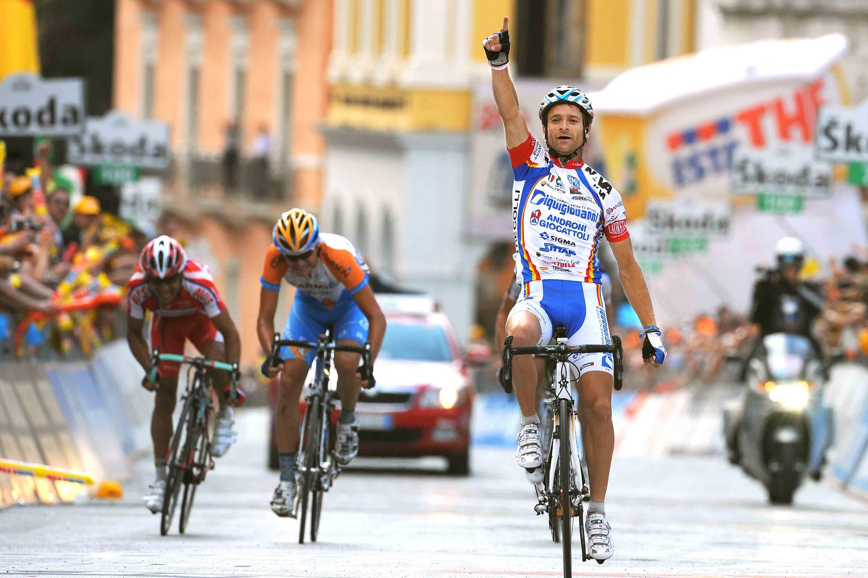 Scarponi won in 2009 ook de achttiende etappe van de Giro (Pro Shots/Tim de Waele)