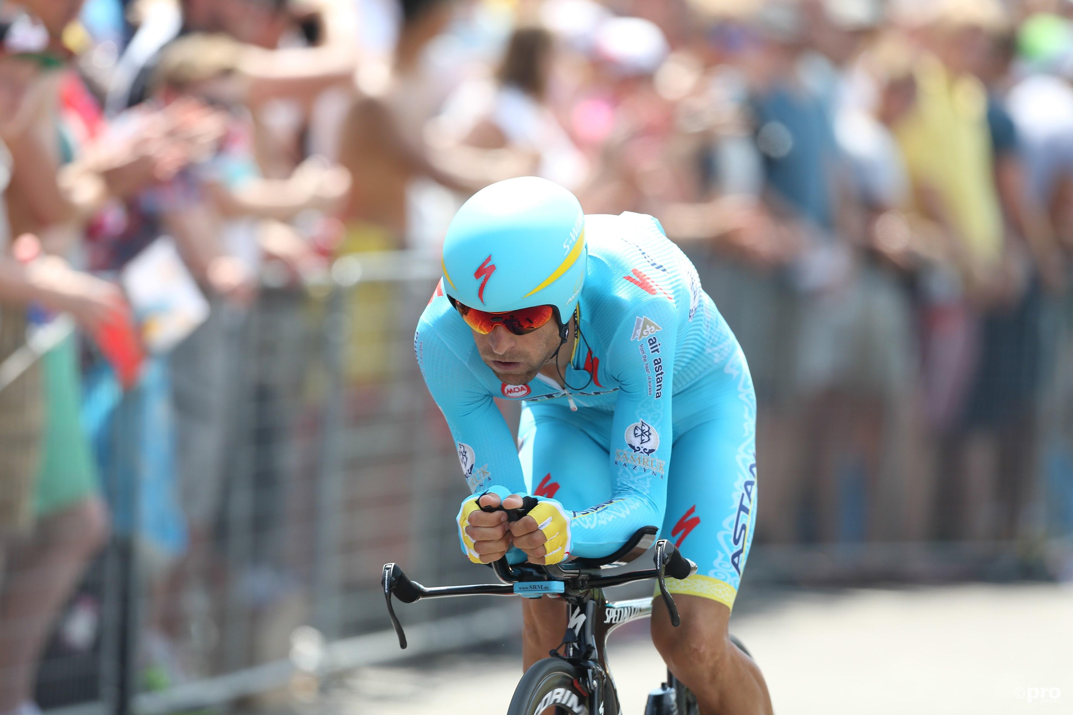 Scarponi tijdens de proloog van de Tour de France van 2015 in Utrecht (Pro Shots/Paul Roling)
