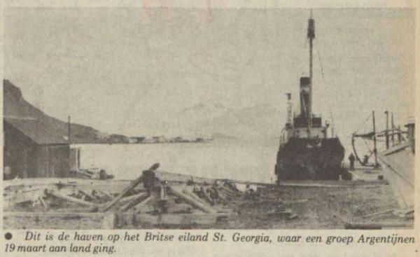 Uit het Nieuwsblad van het Noorden van 2 april 1982