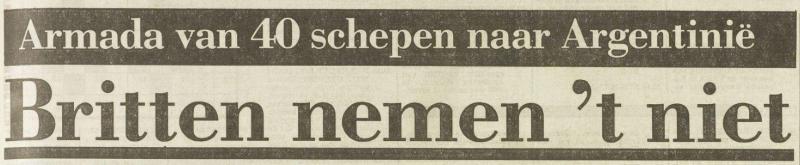 Uit het Vrije Volk van 5 april 1982