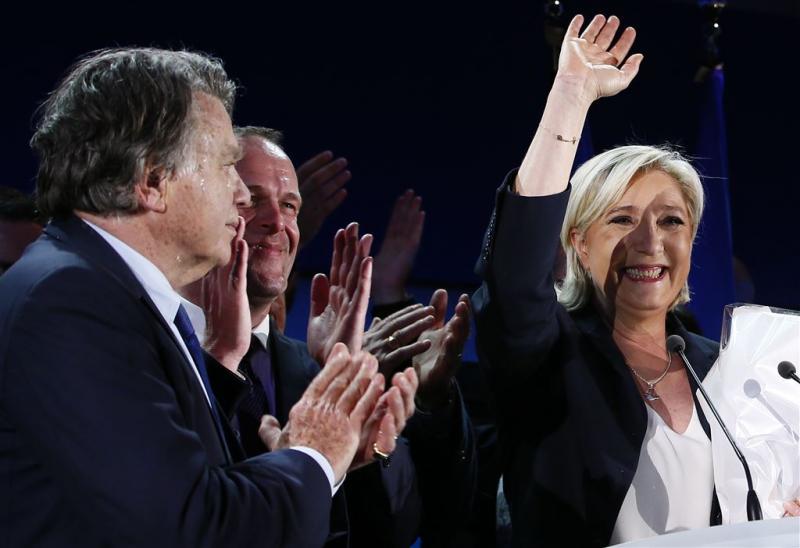 Macron en Le Pen naar tweede ronde