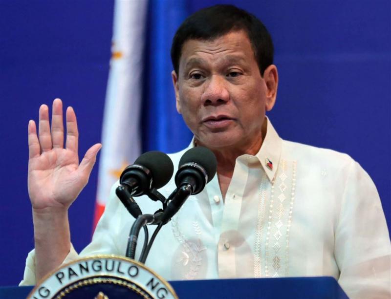 Klacht tegen president Duterte bij Strafhof