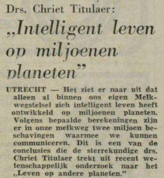 Uit de Leeuwarder Courant van 23 april 1976