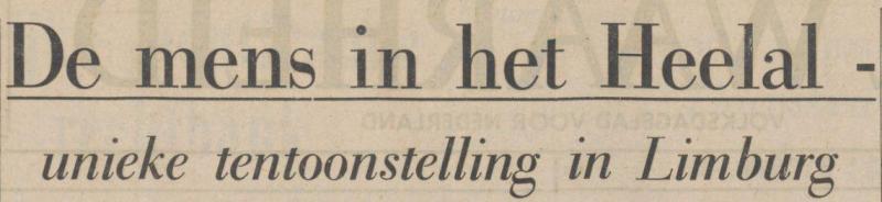 Uit de Waarheid van 20 april 1966