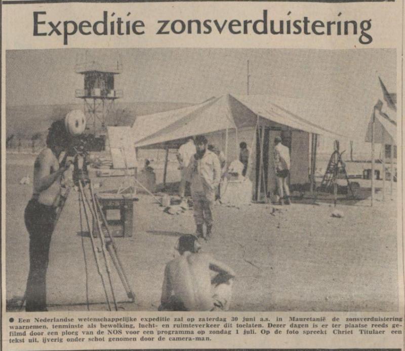 Uit het Limburgs Dagblad van 23 juni 1973
