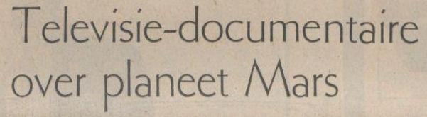 Uit het Limburgs Dagblad van 6 november 1971
