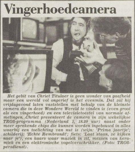 Uit het Vrije Volk van 19 maart 1987