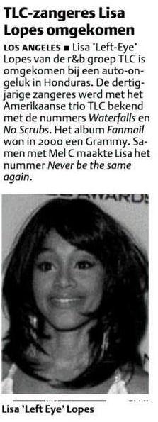 Uit het Dagblad van het Noorden van 27 april 2002