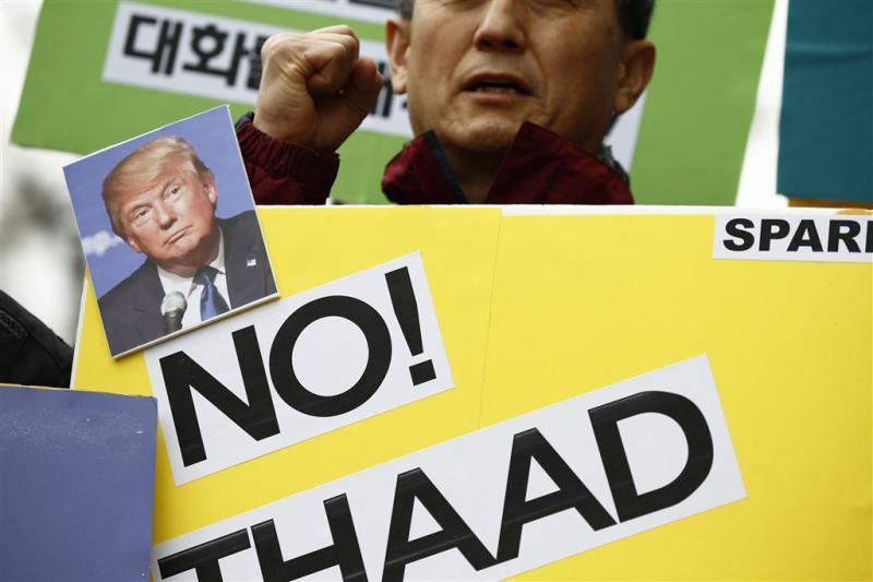 VS en Zuid-Korea bouwen verder aan raketschild