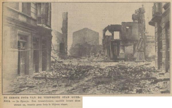 Uit de Haagsche Courant van 30 april 1937