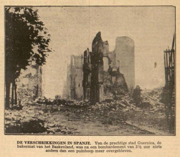 Uit de Leeuwarder Courant van 4 mei 1937