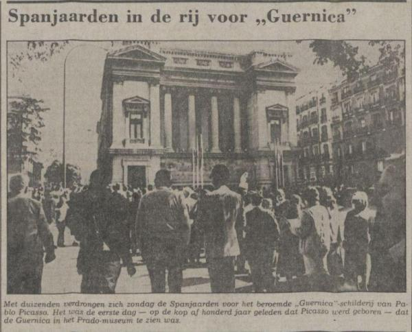 Uit de Waarheid van 27 oktober 1981