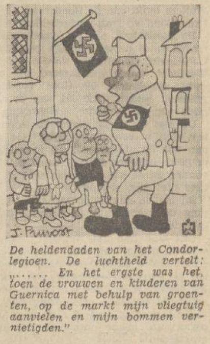 Uit het Volksdagblad van 10 juni 1939