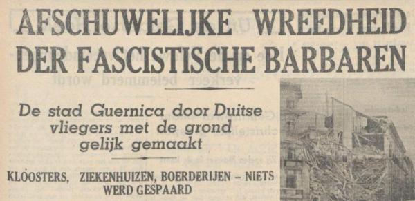 Uit het Volksdagblad van 28 april 1937