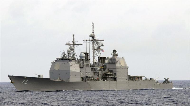 Bijna clash tussen Amerikaans en Iraans schip