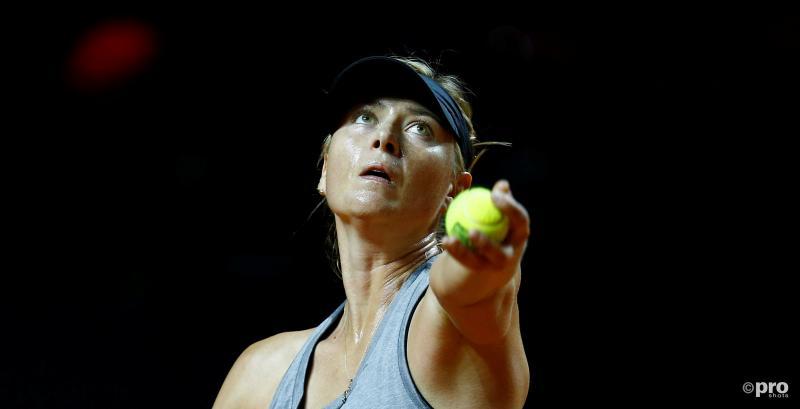 Maria Sharapova luistert terugkeer op met zege (Foto: Pro Shots/Action Images)