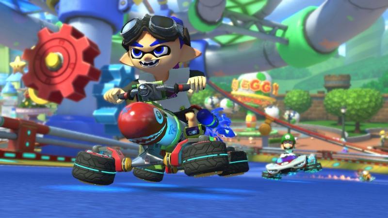 Mario Kart 8 Deluxe Inkling Boy