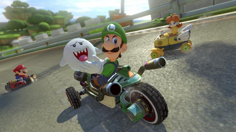 Mario Kart 8 Deluxe Luigi Boo
