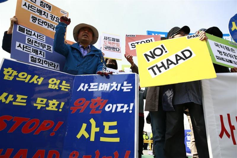 Seoul hoeft niet mee te betalen aan THAAD