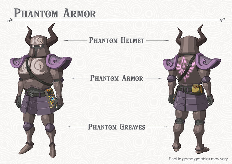 Zelda Phantom Armour