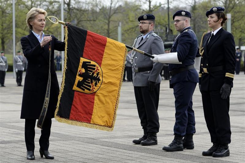 'Extreemrechts netwerk in Duitse leger'