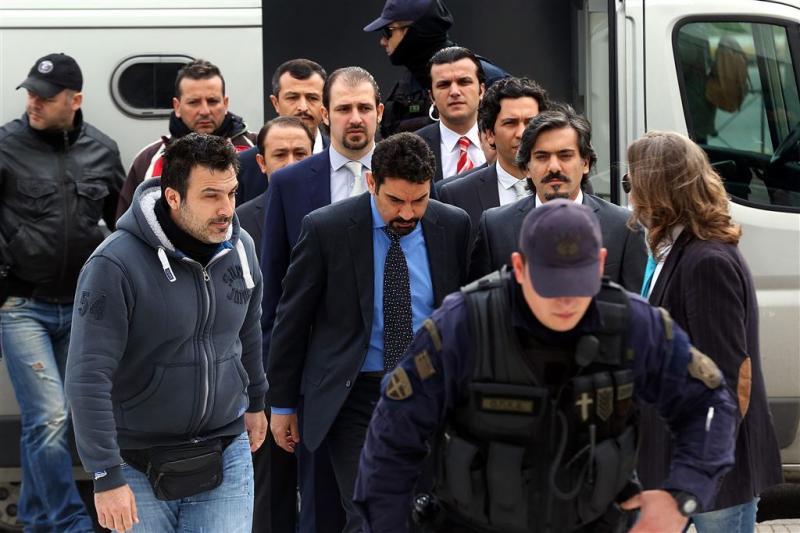 Griekse rechter blokkeert uitlevering Turken
