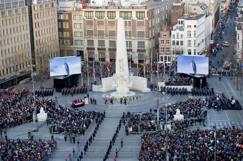 Vluchtelingenherdenking Amsterdam verplaatst