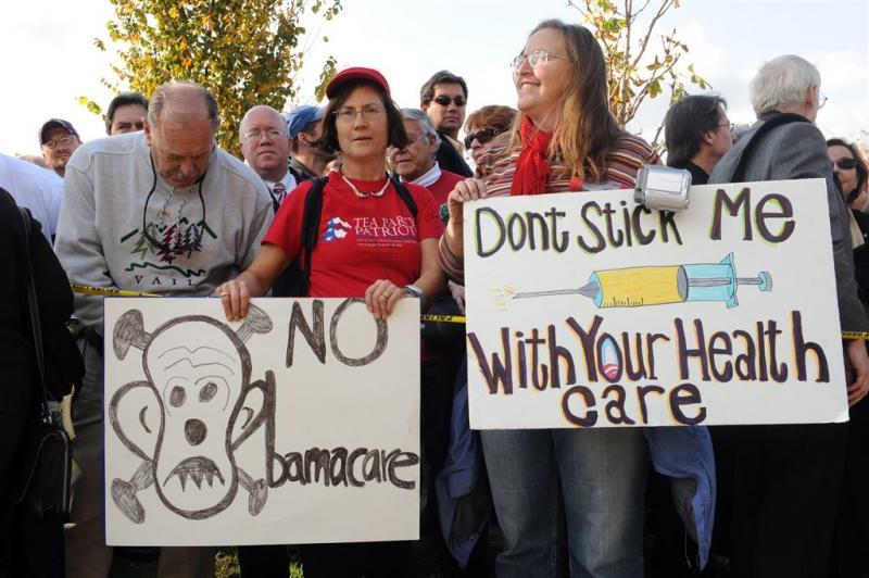 Huis stemt over afschaffen Obamacare