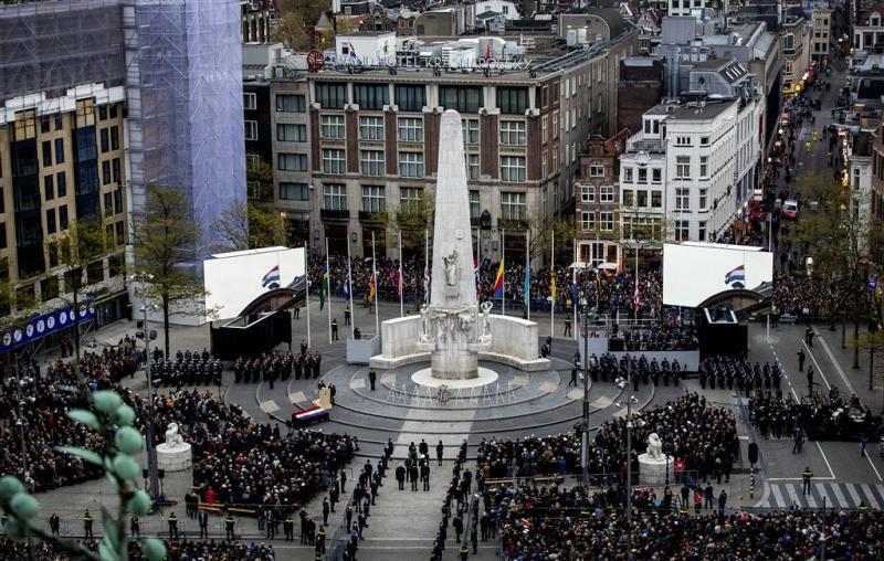 Elf aanhoudingen bij herdenking Amsterdam