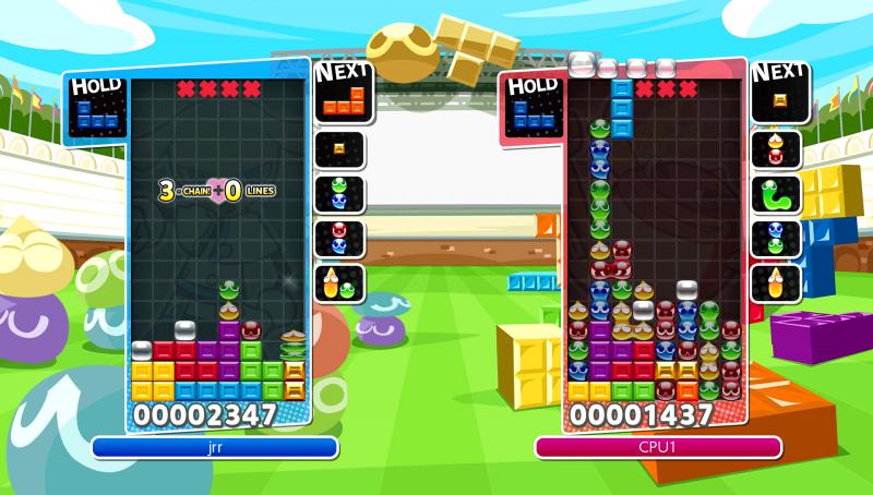 Puyo Puyo Tetris Fusion