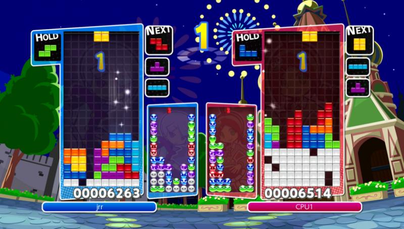 Puyo Puyo Tetris Tetris