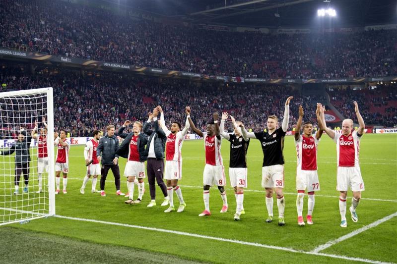 'Ajax op Museumplein bij winst Europa League'