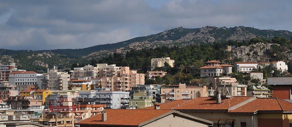 Het mooie Nuoro (Foto: Panoramio)
