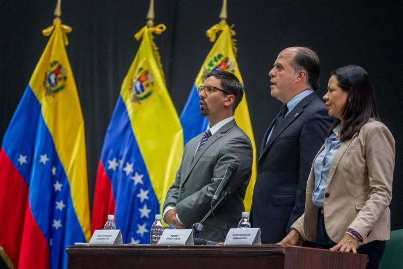 'Venezuela moet parlement eerbiedigen'
