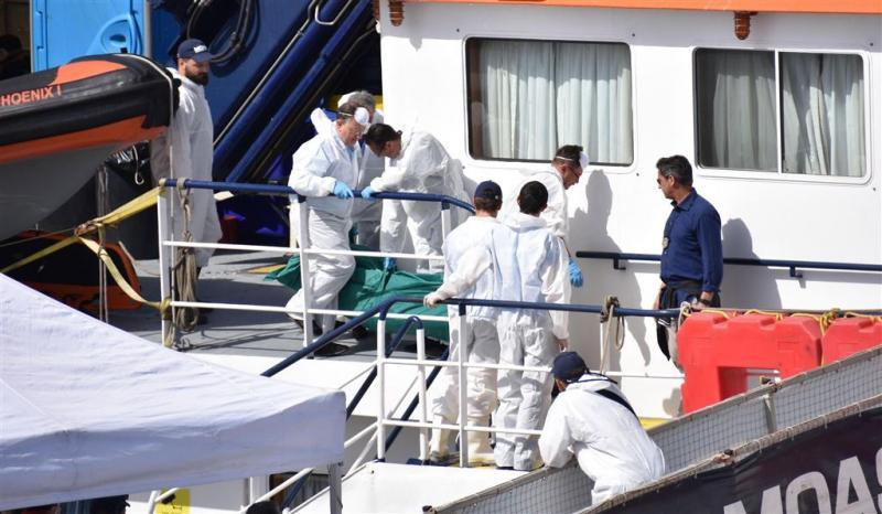 Weer 3000 migranten gered op Middellandse Zee