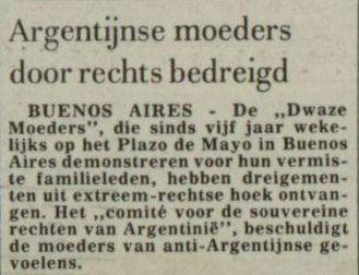 Uit de Leeuwarder Courant van 5 mei 1982
