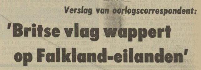 Uit het Nieuwsblad van het Noorden van 22 mei 1982