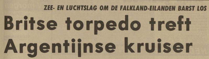 Uit het Nieuwsblad van het Noorden van 3 mei 1982