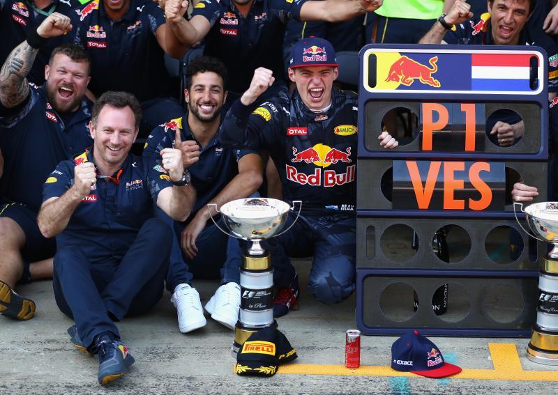 Verstappen zegevierde in 2016 op Barcelona (Foto: Getty Images/Red Bull)